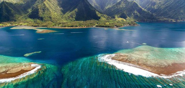 Travel | Tahiti Iti, From Above